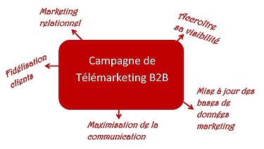 Campagne de telemarketing B2B