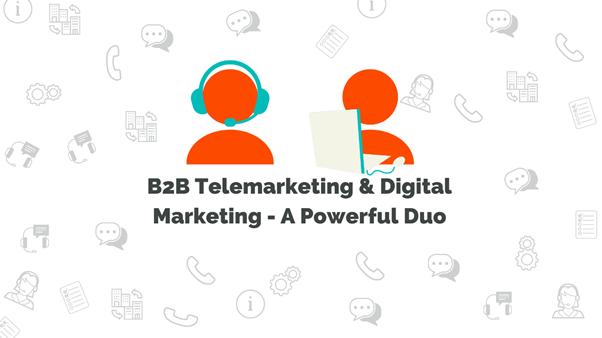 b2b telemarketing and digital marketing